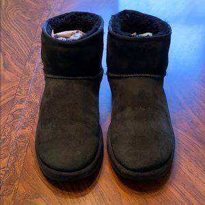 UGG Black Mini Boots